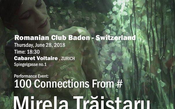 """Mirela Trăistaru """"100 Connections From #"""" @ Cabaret Voltaire, Zurich"""