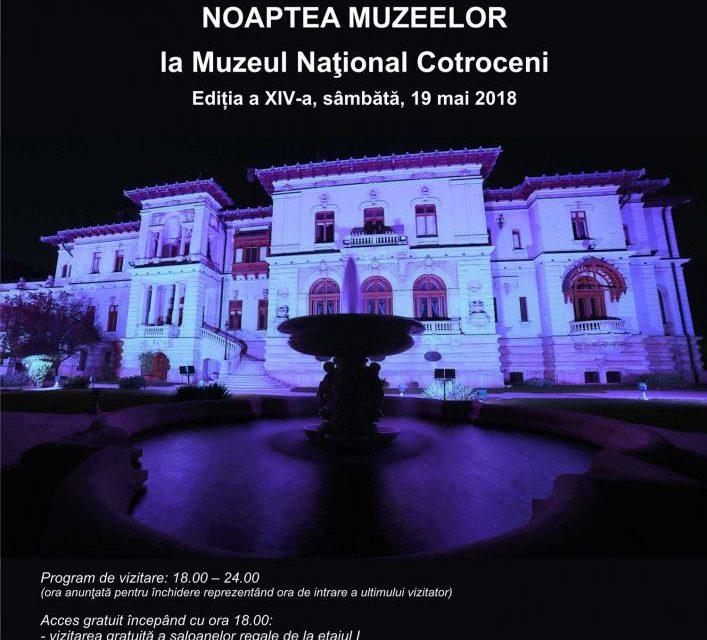Noaptea Muzeelor la Muzeul Naţional Cotroceni
