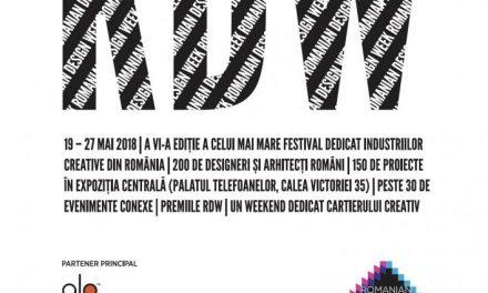 A șasea ediție Romanian Design Week începe în această săptămână