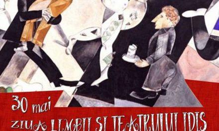 Ziua Limbii și Teatrului Idiș sărbătorită la Teatrul Evreiesc de Stat