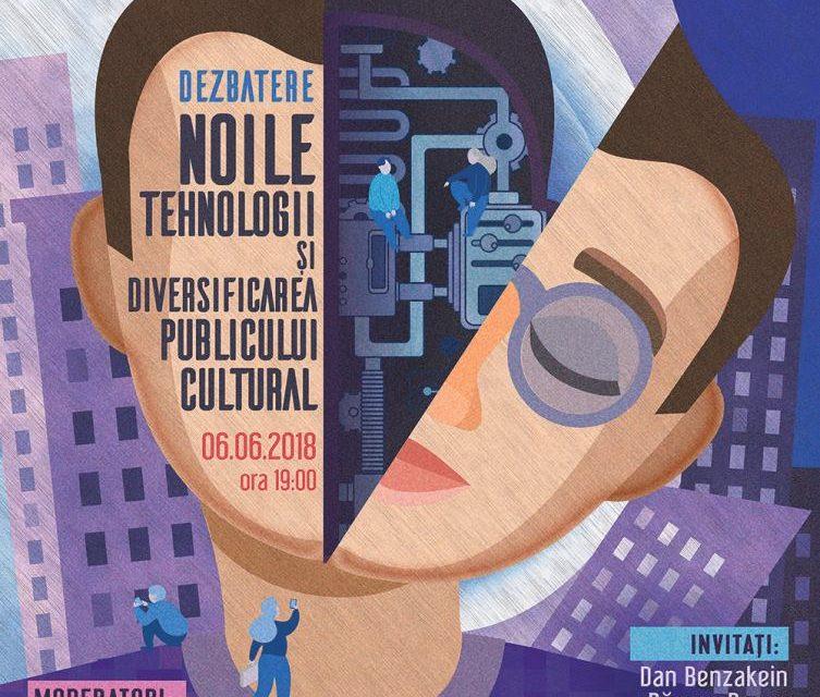 Noile tehnologii și diversificarea publicului cultural @ dezbatere online la noi și offline la creart Bucuresti