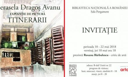"""Cerasela Dragoș Avanu, expoziția de pictură """"Itinerarii"""" @ Biblioteca Națională a României"""