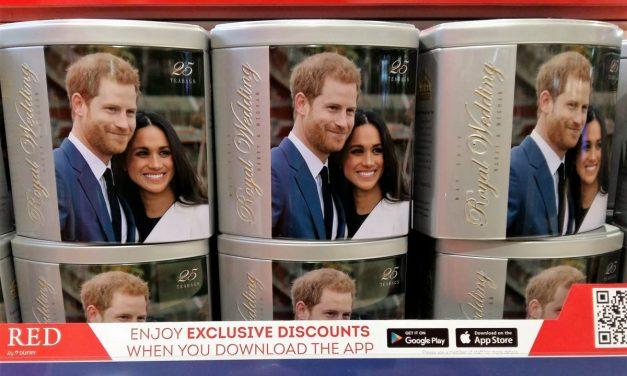 The royal wedding preparations – London 2018