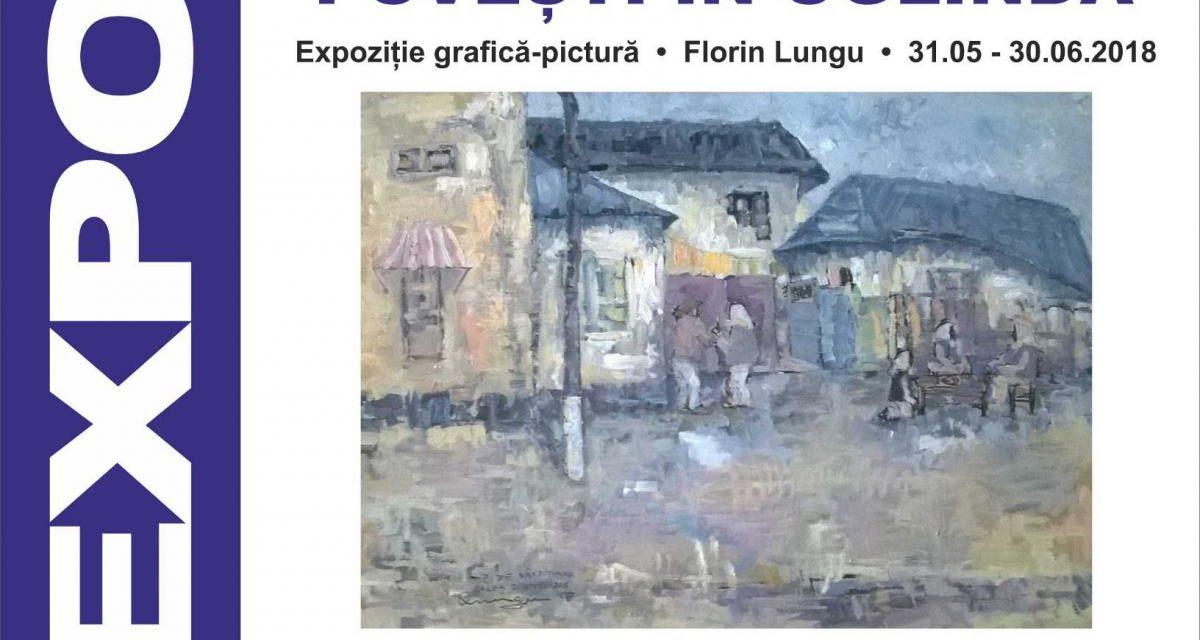 """Expoziția de pictură și grafică """"Povești în oglindă"""" Florin Lungu @ Școala Gimnazială Nr.2 din Ferentari"""