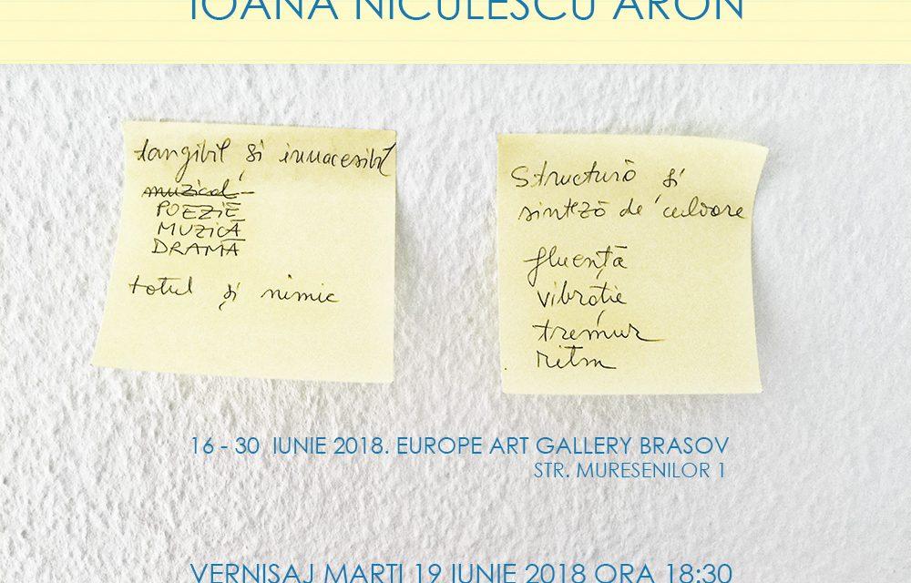 "Ioana Niculescu-Aron ""Note de Pictor"" @ Galeria Europe, Brașov"