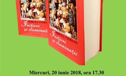 """Lansarea volumului """"Inițieri și iluminații"""" – opera scrisă a pictorului Mircea Ciobanu(1950-1991)"""