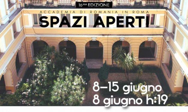 SPAZI APERTI ediția a 16-a @ Accademia di Romania in Roma
