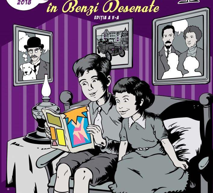 """Salonul de Bandă Desenată """"Povești din București în Benzi Desenate"""", la Casa Filipescu-Cesianu, București"""