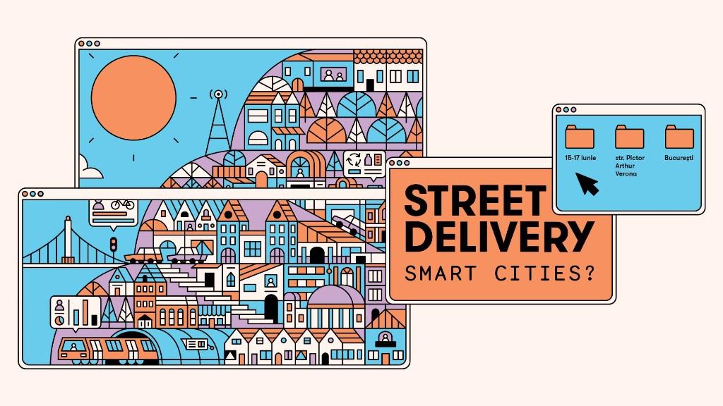 """Street Delivery vorbește despre """"Smart Cities?"""" la a 13-a ediție"""