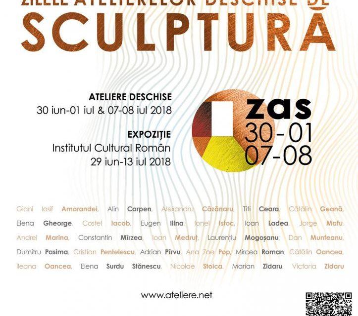 Zilele Atelierelor Deschise de Sculptură, București, ediția a II-a