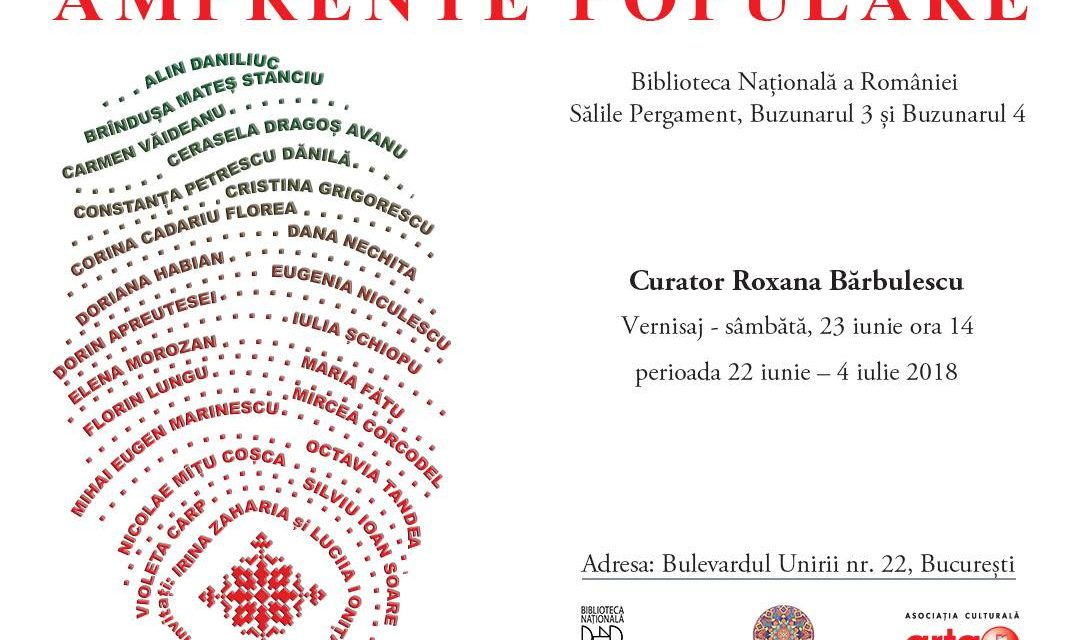 "Expoziția ""Amprente populare"" @ Biblioteca Națională a României"