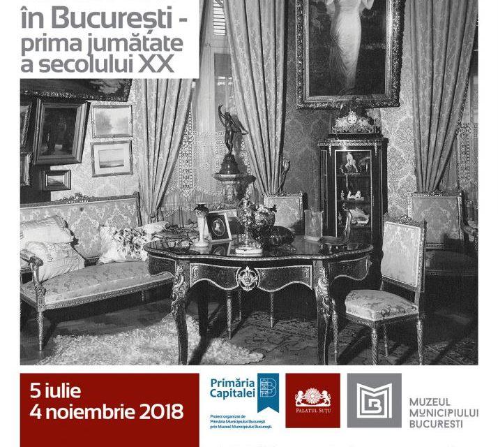 """""""Artă și ambient în București – prima jumătate a secolului XX"""" @ Muzeul Municipiului București – Palatul Suțu"""