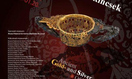 """Deschiderea expoziției """"Aurul și argintul antic al României"""" la Szeged, Ungaria"""