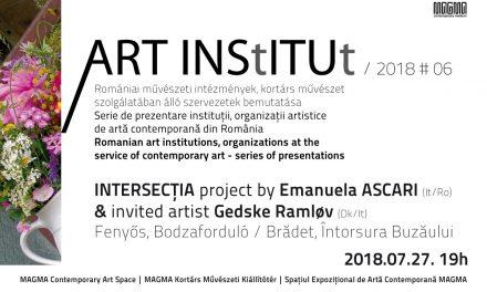 MAGMA prezintă ART INStITUt # 6 – proiectul INTERSECȚIA