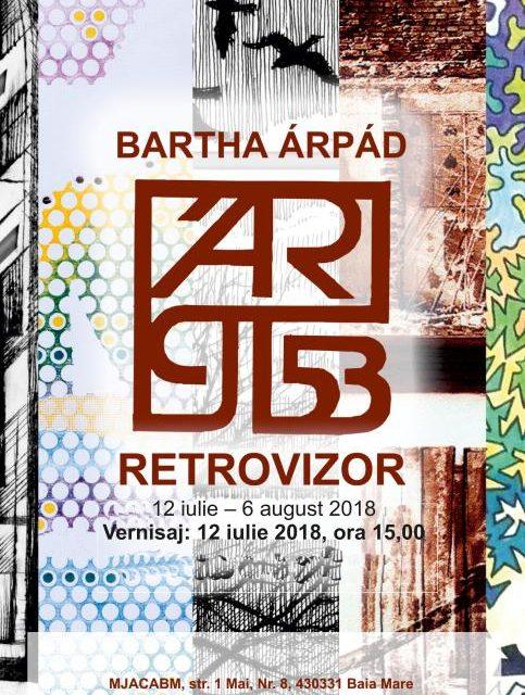 """BARTHA ÁRPÁD """"Retrovizor"""" @ Muzeul Județean de Artă «Centrul Artistic Baia Mare»"""