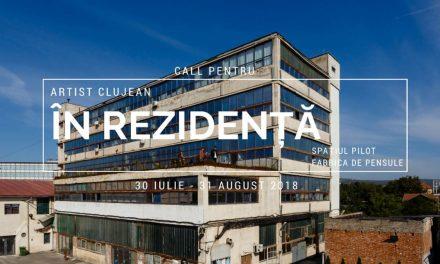 Call pentru rezidență artistică @ Fabrica de Pensule, Cluj-Napoca