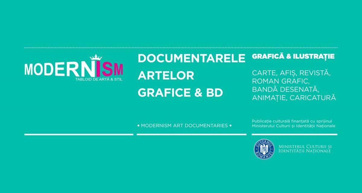 Documentarele artelor grafice românești & BD @ Modernism.ro