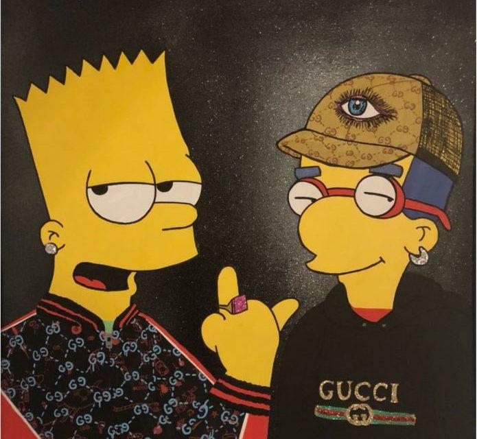 """Expoziția""""Life is Gucci""""a artistuluiMARC(Caraian Mark) @ Rotenberg-Uzunov Art Gallery, București"""