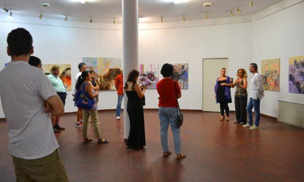 """Expoziția Rafael și Diana Matiaș """"Tandem cromatic"""" @ Galeria """"Căminul Artei"""", București"""