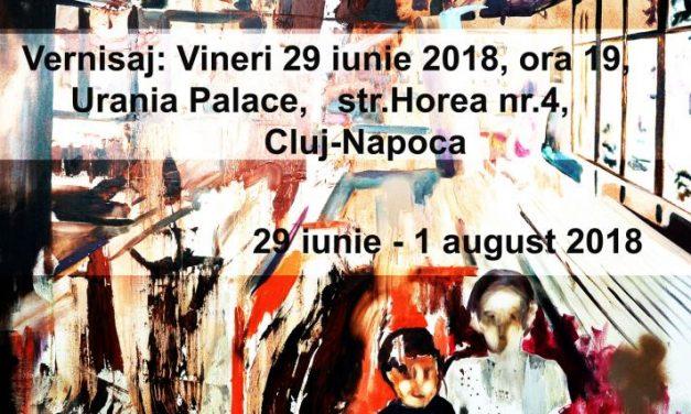 """Expoziție personală de pictură Mihaela Mihalache """"Sinidisis"""" @ Urania Palace, Cluj Napoca"""