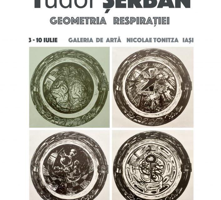 """Tudor Șerban """"Geometria Respirației"""" @ Galeria de Artă N. Tonitza, Iași"""