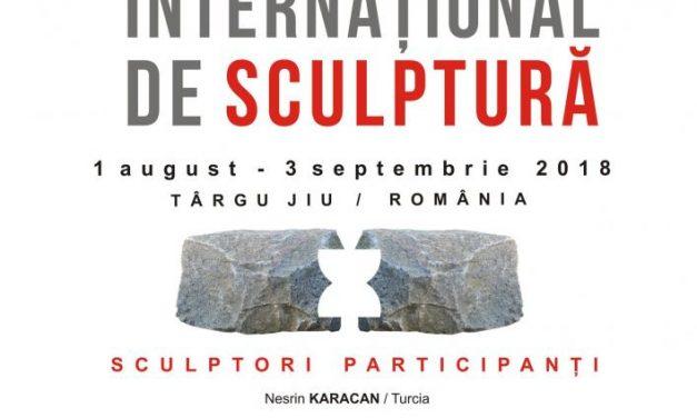"""Simpozionul Internaţional de Sculptură – Atelierele Brâncuși 2018 @ Centrul de Cercetare, Documentare și Promovare """"Constantin Brâncuși"""", Târgu-Jiu"""