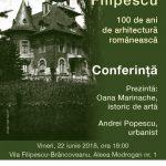 """Proiectul """"Parcul Filipescu – 100 de ani de arhitectură neoromânească"""""""