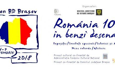 Apel la proiecte pentru artiști de bandă desenată @ Salon BD România 100