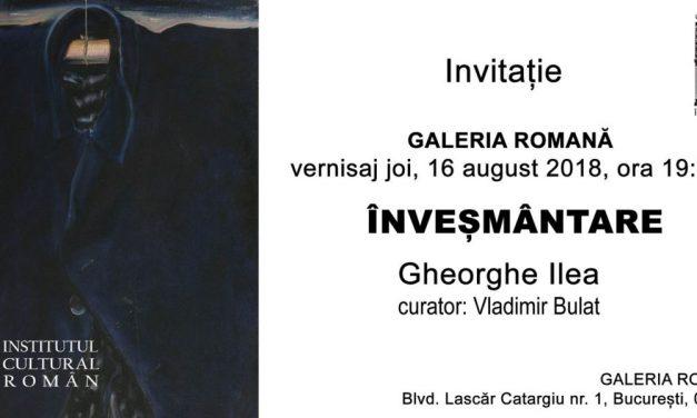 """Expoziția """"Înveșmântare"""" a artistului Gheorghe Ilea la Galeria Romană, București"""