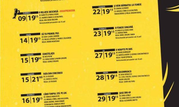 Teatrul de Artă București deschide noua stagiune cu o avanpremieră. Iată întreg programul lunii septembrie