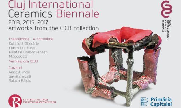 """CLUJ INTERNATIONAL CERAMICS BIENNALE @ Centrul Cultural """"Palatele Brâncovenești de la Porțile Bucureștiului"""", Mogoșoaia"""