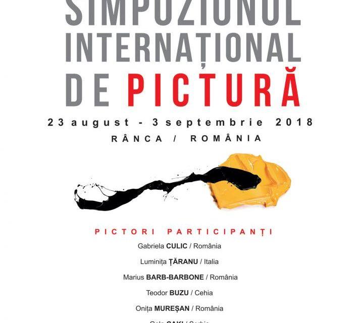 """Deschidere oficială """"Atelierele Brâncuși"""", Simpozionul Internațional de Pictură, Complex Panoramic, Rânca"""