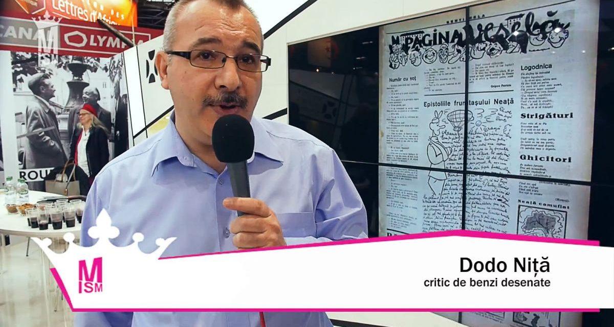 Dodo Niță despre istoria benzii desenate românești – Documentarele artelor grafice românești