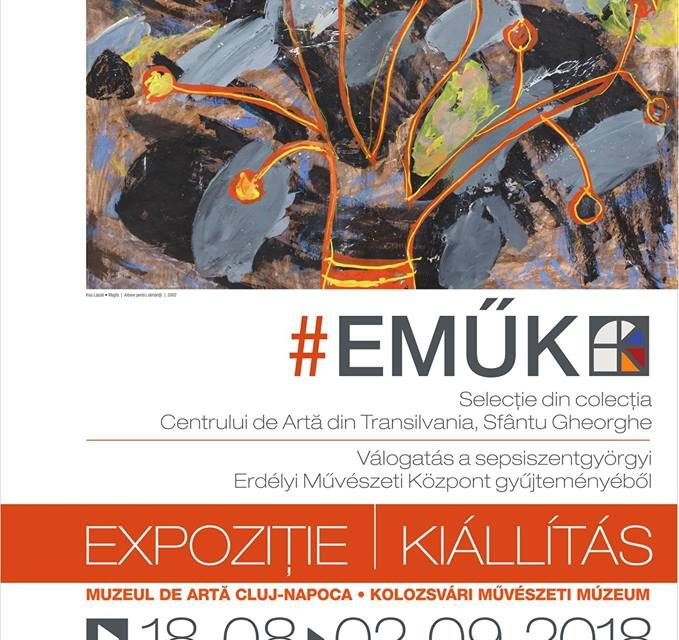 Expoziția #EMŰK. Selecție din colecția Centrului de Artă din Transilvania @ Muzeul de Artă Cluj-Napoca