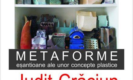 """ExpozițiaJudit Crăciun """"METAFORME – eșantioane ale unor concepte plastice"""" @ Galateea Contemporary Art, București"""