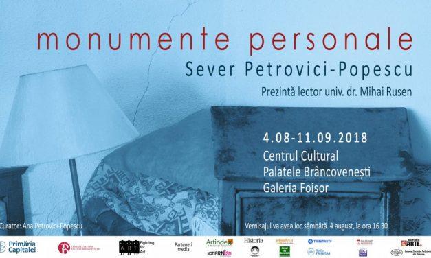 """Expoziția de foto-sculptură""""Monumente personale"""" Sever Petrovici-Popescu@ Galeria Foișor a Palatului Brâncovenesc de la Mogoșoaia"""