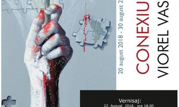 """Expoziția de pictură Viorel Vasiliu """"Conexiuni"""" @ Galeria de artă """"Th. Pallady"""", Iași"""