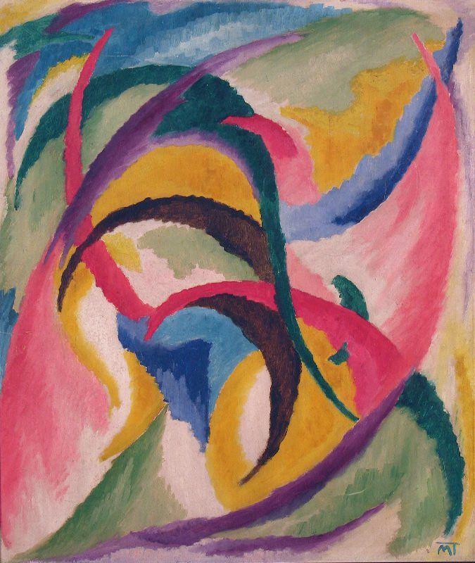 Hans Mattis-Teutsch, Flori sufleteşti, (ulei pe pânză, 1920-1924)