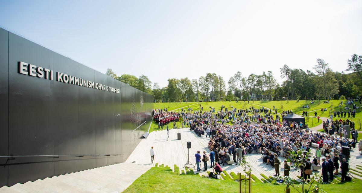 Memorial al victimelor comunismului inaugurat in Estonia