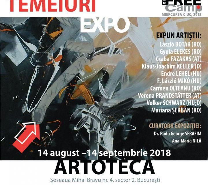Expoziția Taberei Internaționale de Artă Plastică FREE Camp 2018 @ Biblioteca Metropolitană și Galeria Artoteca București
