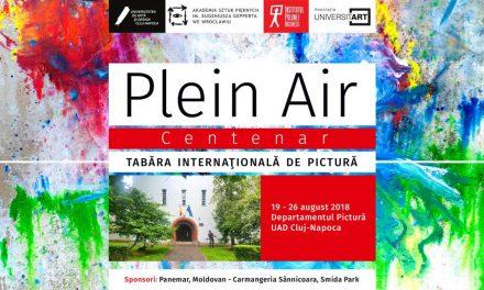 Plein Air – Centenar, tabără internaţională de pictură