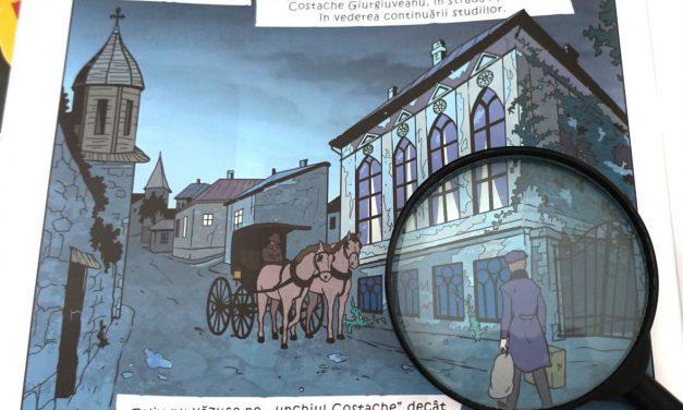 """""""ENIGMA OTILIEI"""" în bandă desenată, un volum care se lansează la """"Muzeul Vârstelor"""", Muzeul Municipiului București"""