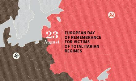 """""""Reţine. August 23″ Ziua Europeană a Memoriei Victimelor Regimurilor Totalitare"""