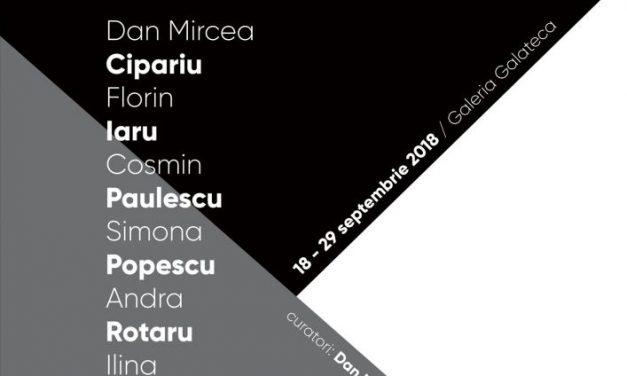 4×4. Instalația de cArte @ galeria Galateca, București