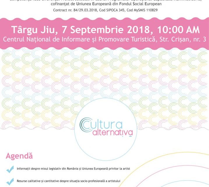 Întâlniri Regionale de Dezbatere @ Cultura Alternativă: Târgu Jiu, Târgoviște, Constanța, Timișoara, Brașov, Iași, Cluj-Napoca și București