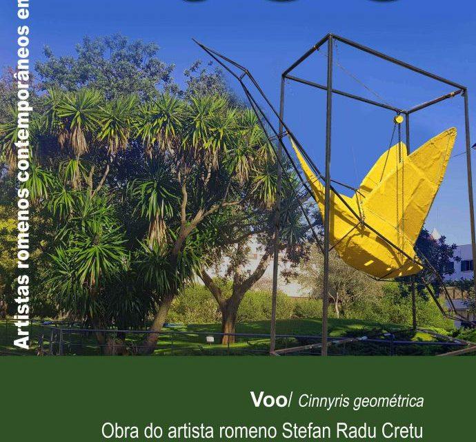 """Sculptura """"Zbor"""" a artistului român Ștefan Radu Crețu expusă la Cascais"""