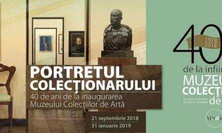 """Expoziția """"Portretul colecționarului 40 de ani de la deschiderea Muzeului Colecţiilor de Artă"""" @ Muzeul Naţional de Artă al României"""