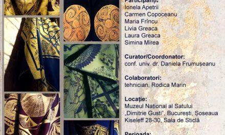 """Expoziţia de artă textilă EVOCĂRI @ Muzeul Naţional al Satului """"Dimitrie Gusti"""""""