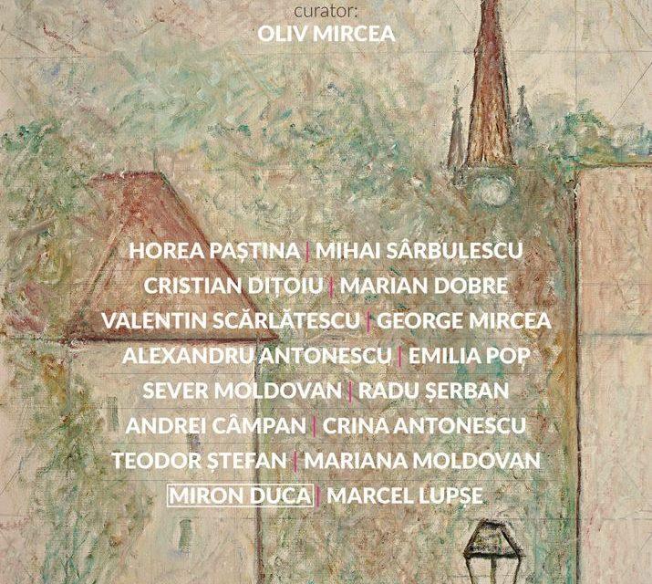 """Expoziția """"Bistrița, Orologiul din Turn"""" @ Elite Art Gallery, București"""
