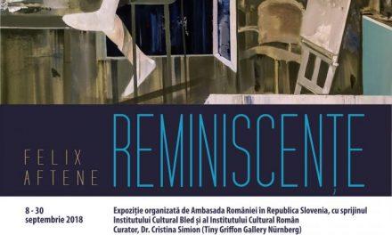 """EXPOZIȚIE DE PICTURĂ """"REMINISCENȚE""""– FELIX AFTENE @ GALERIA DE ARTA """"STOLP""""– CASTELUL BLED"""